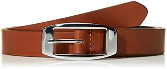 Filgate Skinny Leather Fashion Belt with Featured Buckle 36""