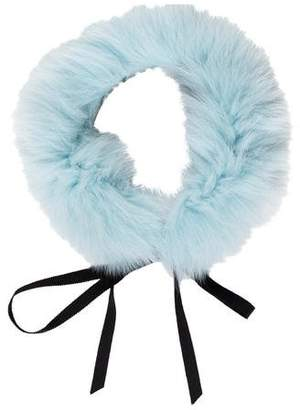 J. Mendel Fox Fur Collar