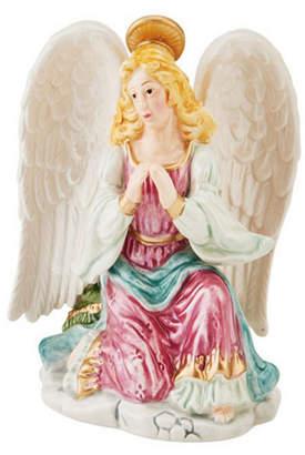 Fitz & Floyd Taper Candleholder, Angel Praying
