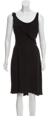 Armani Collezioni Sleeveless Cocktail Dress