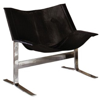 Global Views Cantilever Side Chair