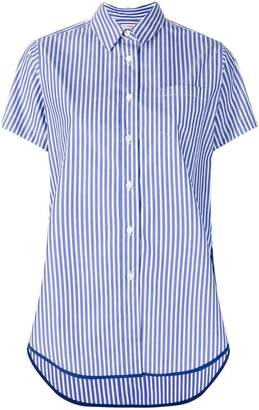 Alberto Biani poplin striped shirt
