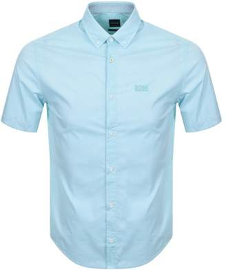 046410bfe Hugo Boss Short Sleeve Shirt Green - ShopStyle UK