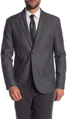 Jachs Donegal Grey Two Button Notch Lapel Classic Fit Woven Blazer