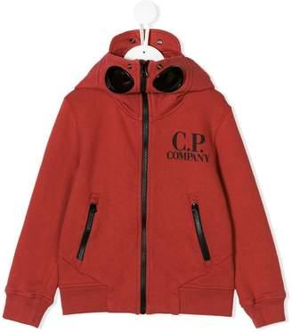 C.P. Company Kids lens detail logo hoodie