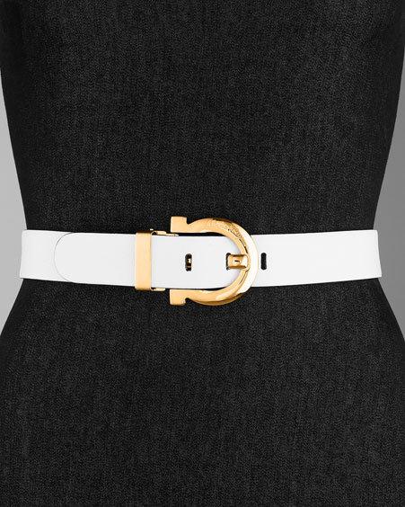 Salvatore Ferragamo Ginger Reversible Belt