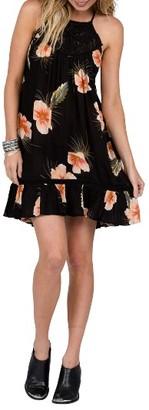 Women's Volcom Not Over It Crochet Swing Dress $59.50 thestylecure.com