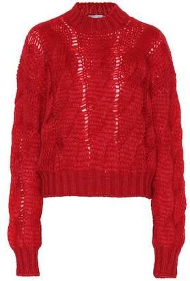Prada Mohair-blend sweater