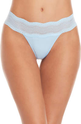 Cosabella Dolce Lace Trim Thong