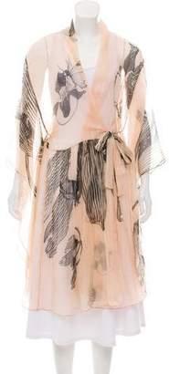 Maria Lucia Hohan Silk Kimono Top