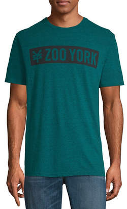 Zoo York Crew Neck Short Sleeve Logo Graphic T-Shirt