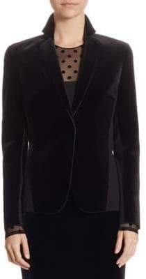 Akris Velvet Jersey Jacket
