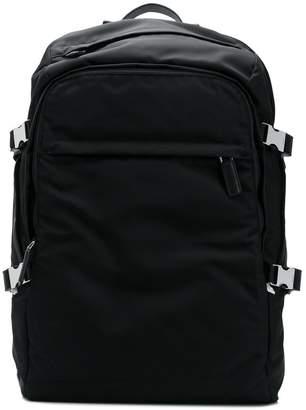 Prada adjustable size backpack