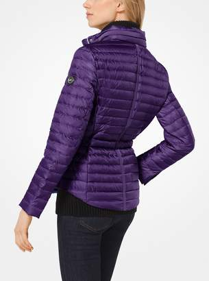 MICHAEL Michael Kors Packable Nylon Puffer Jacket