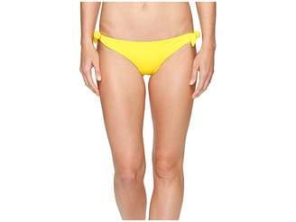 Mara Hoffman Solid Tie Side Bottom Women's Swimwear