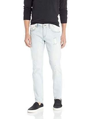 Armani Exchange A|X Men's Slim Light Wash Destroyed Jeans