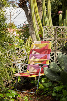 Urban Outfitters Woven Outdoor Lawn Chair