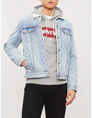 Levi's Type 3 Sherpa Trucker denim jacket