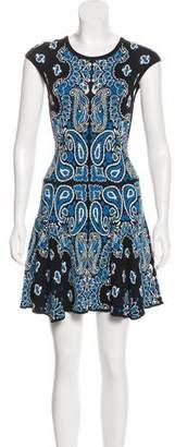 Torn By Ronny Kobo Knit A-Line Dress