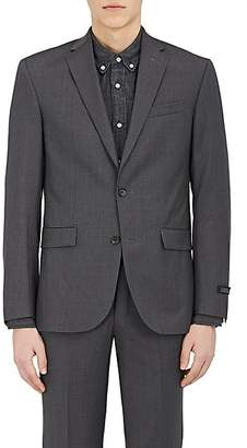 Barneys New York MEN'S WOOL TWO-BUTTON SUIT - CHARCOAL SIZE 44