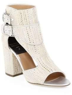 Laurence Dacade Rush Raffia Buckled Sandals