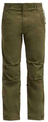 MHI Original Snopants Mountain Embroidered Trousers - Womens - Green