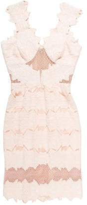 Jonathan Simkhai Mesh-Paneled Sleeveless Dress