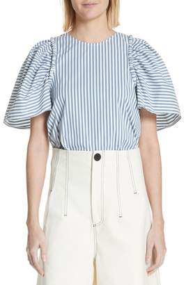 Sea Riviera Corded Puff Sleeve Blouse