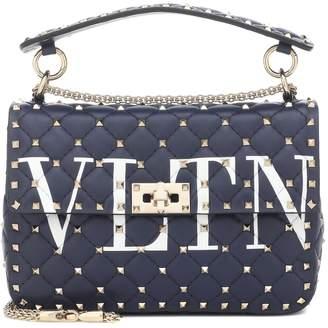 Valentino VLTN Rockstud Spike leather shoulder bag