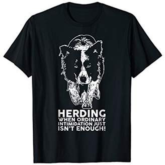 Breed Border Collie Funny Herding T Shirt