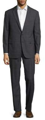 Polo Ralph LaurenDrake Classic-Fit Windowpane-Check Wool Suit
