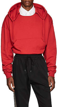 Cmmn Swdn Men's Tyrone Crop Hoodie - Red