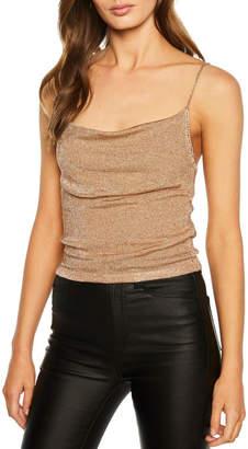Bardot Dani Lurex Knit Top
