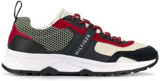 Tommy Hilfiger lightweight mixed texture sneakers