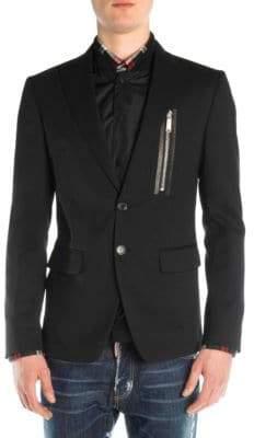 DSQUARED2 Stretch Wool Blazer