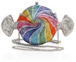 Judith Leiber Rainbow Crystal Candy Minaudiere $4,995 thestylecure.com