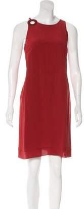 Loro Piana Tie-Front Mini Dress