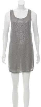 Haute Hippie Silk Sequin Dress