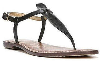 Sam Edelman Gigi T-Strap Flat Sandals Women Shoes