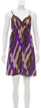 MICHAEL Michael Kors Printed Silk Mini Dress