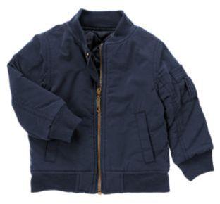 Crazy 8 Quilted Zip Jacket