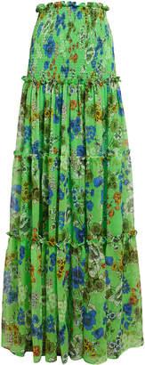 Alexis Roshan Smocked Maxi Skirt