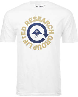 Lrg Men's Research Circle Logo-Print T-Shirt