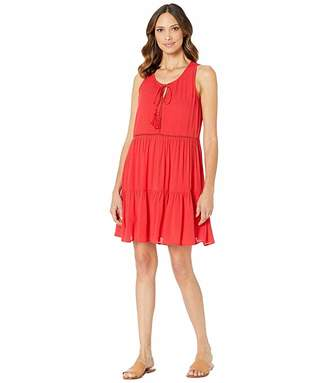Wrangler Tiered Skirt Dress