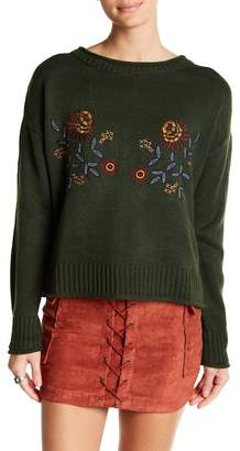Jealous Tomato Embroidered Knit Sweater