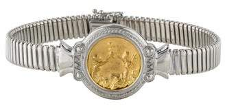 Tagliamonte Two-Tone Relief Bracelet
