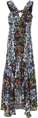 Tanya Taylor Sancia Floral Dress