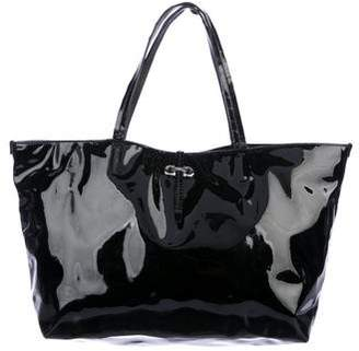 Salvatore Ferragamo Gavina Patent Leather Tote