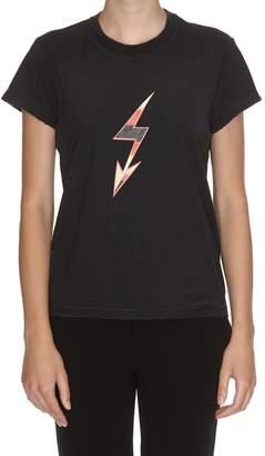 Givenchy Lightning Bolt Print T-shirt
