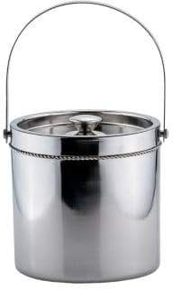 Old Dutch 3.25-Quart Double-Walled Stainless Steel Ice Bucket